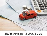 car insurance | Shutterstock . vector #569376328