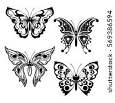 set of different forms... | Shutterstock .eps vector #569386594