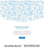 pregnancy related banner. eps...   Shutterstock .eps vector #569390140