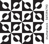 abstract rhombus mosaic... | Shutterstock .eps vector #569394790