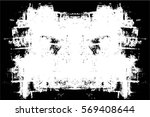 grunge black and white urban... | Shutterstock .eps vector #569408644