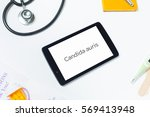 slanted close shot of doctors...   Shutterstock . vector #569413948
