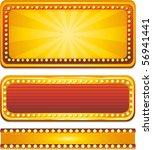 vector casino neon sign | Shutterstock .eps vector #56941441