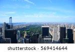 new york central park aerial... | Shutterstock . vector #569414644