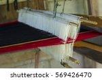 weaving equipment | Shutterstock . vector #569426470