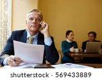 employer calling | Shutterstock . vector #569433889