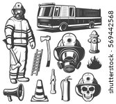 Firefighting Vintage Elements...