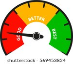 good better best | Shutterstock .eps vector #569453824