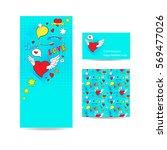 love flyer banner  business... | Shutterstock .eps vector #569477026