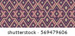 trendy modern ethnic  beaded... | Shutterstock .eps vector #569479606