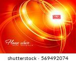 abstract ardent background. red ... | Shutterstock .eps vector #569492074