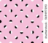 Seamless Abstract Retro Dots...