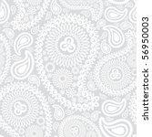 elegant paisley seamless | Shutterstock .eps vector #56950003