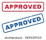 approved text rubber seal stamp ...