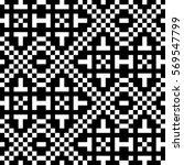 vector seamless pattern.... | Shutterstock .eps vector #569547799