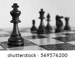 Chess Photographed On A...