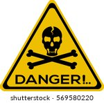 danger vector | Shutterstock .eps vector #569580220