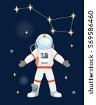 Vector Astronaut Character Pose.