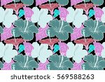 raster seamless pattern of... | Shutterstock . vector #569588263