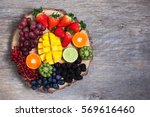 Raw Fruit And Berries Platter ...