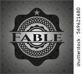 fable dark badge | Shutterstock .eps vector #569621680