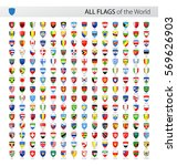 vector collection of all world... | Shutterstock .eps vector #569626903