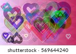 valentine idea icon | Shutterstock .eps vector #569644240