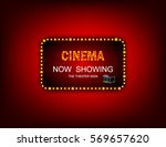 movie time now showing banner... | Shutterstock .eps vector #569657620