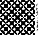 raster monochrome seamless...   Shutterstock . vector #569672260