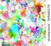 motley seamless vector... | Shutterstock .eps vector #569680174