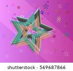 cosmos elements vector | Shutterstock .eps vector #569687866