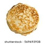 hot homemade flatbread isolated ...   Shutterstock . vector #569693938