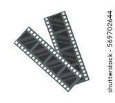 film cinema technology vector... | Shutterstock .eps vector #569702644