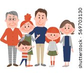 family | Shutterstock .eps vector #569703130