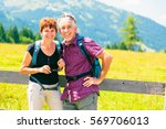 active senior couple | Shutterstock . vector #569706013