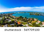 subdivision in florida located... | Shutterstock . vector #569709100