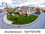 Small photo of Subdivision Aerial skyline shot