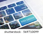 web design   green button...