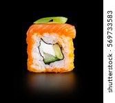 traditional fresh japanese... | Shutterstock . vector #569733583