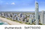 gold coast  australia   january ... | Shutterstock . vector #569750350