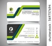 green line modern creative... | Shutterstock .eps vector #569757694