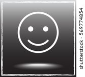 face sign icon  vector... | Shutterstock .eps vector #569774854