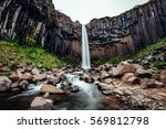 great view of svartifoss... | Shutterstock . vector #569812798