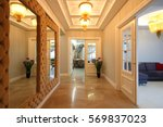 home entrance  | Shutterstock . vector #569837023