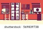 medical laboratory illustration | Shutterstock .eps vector #569839738