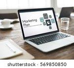 development investment market...   Shutterstock . vector #569850850
