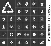 ecology and alternative energy... | Shutterstock .eps vector #569889130