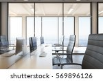 side view of modern coworking... | Shutterstock . vector #569896126
