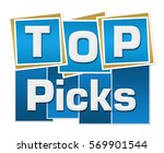 top picks blue squares stripes  | Shutterstock . vector #569901544