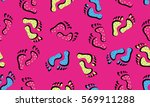 memphis decorative seamless... | Shutterstock .eps vector #569911288